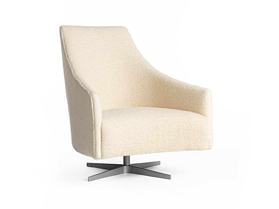 Arthur G Lunar Chair in White