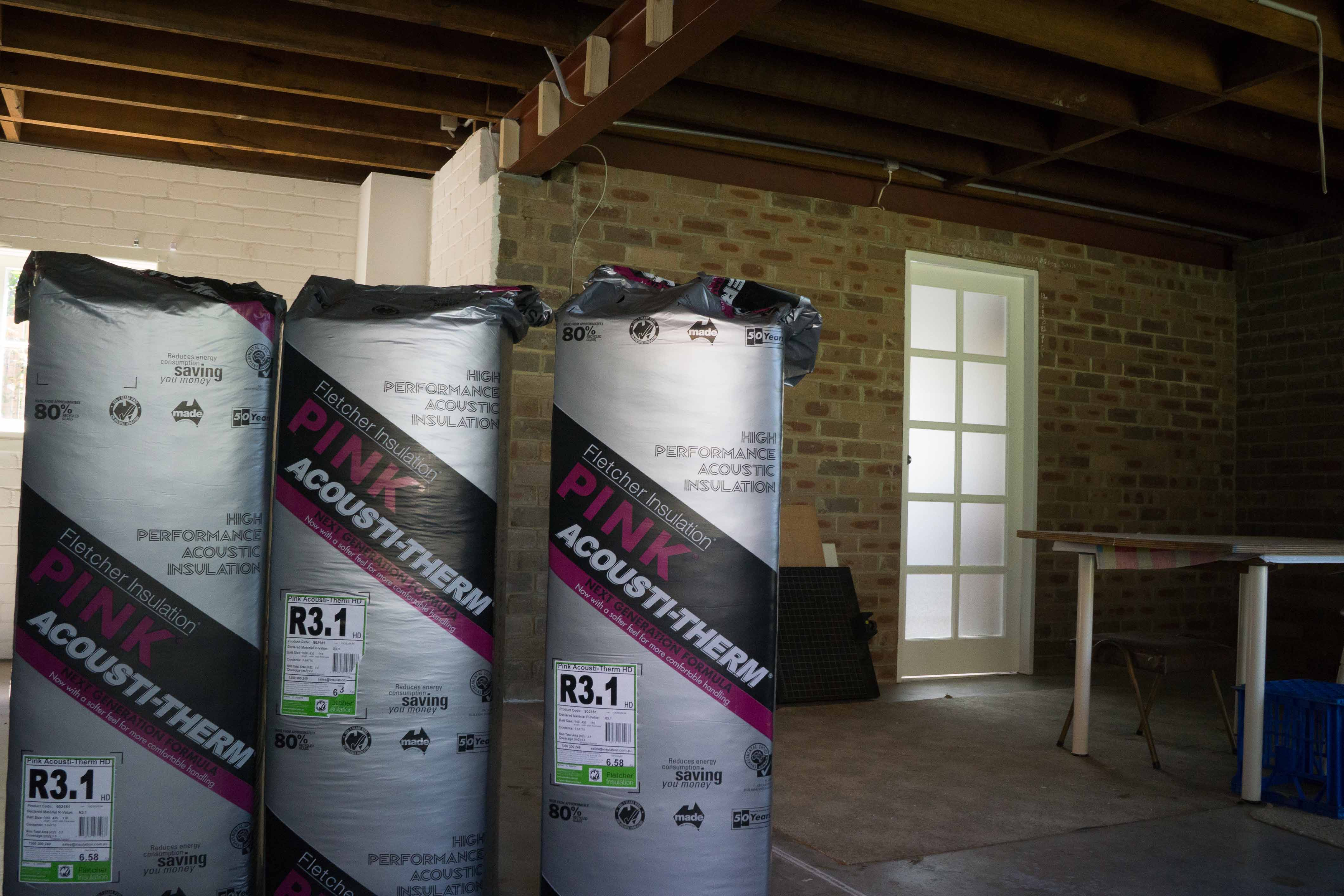 Installing eco friendly installation with geca project series for Eco friendly house insulation