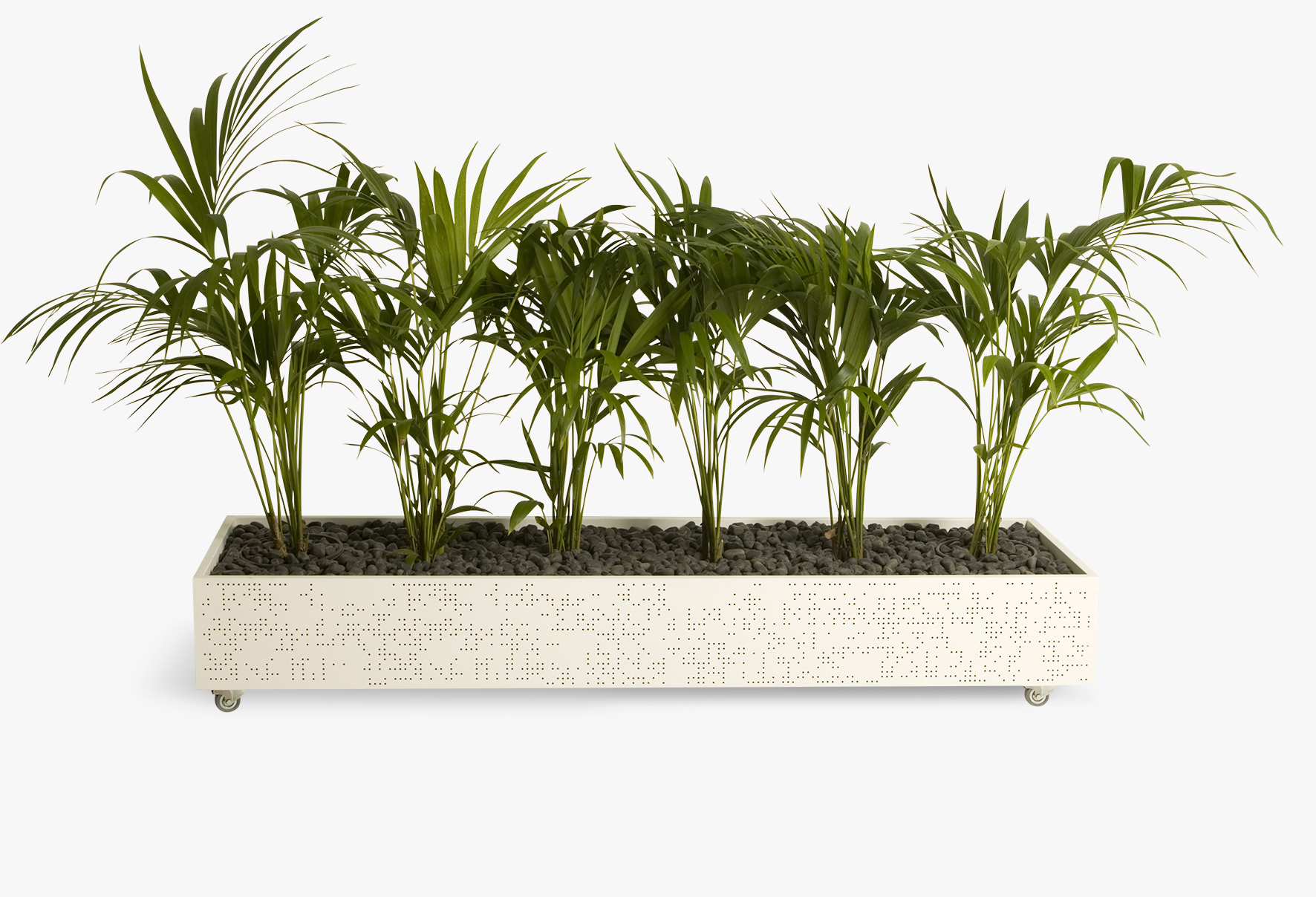 Flox Freestanding Planter Box by Planex