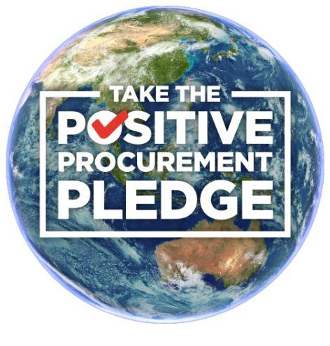 Take the Positive Procurement Pledge