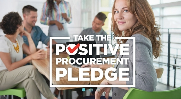 Take the Positive Procurement Pledge