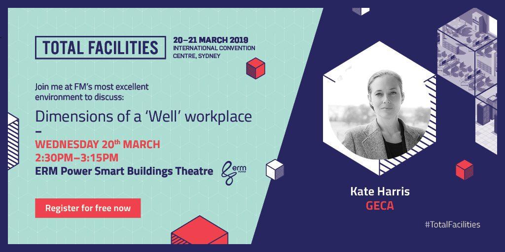 Total Facilities 2019 Speakers - Kate Harris