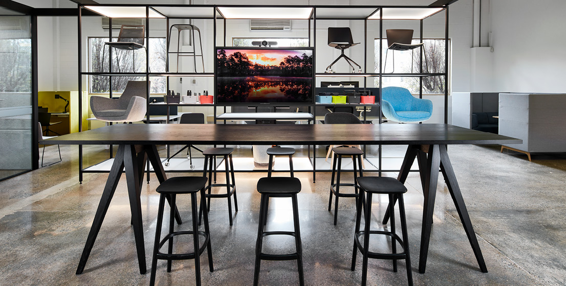 Canberra Office Furniture Stork Table