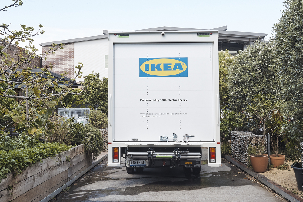 IKEA Australia Announces Switch to Electric Vehicles