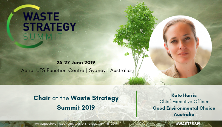Kate Harris Chair at Waste Strategy Summit