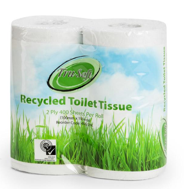 TruSoft 400's 2-ply 4 Roll Pack Toilet Paper