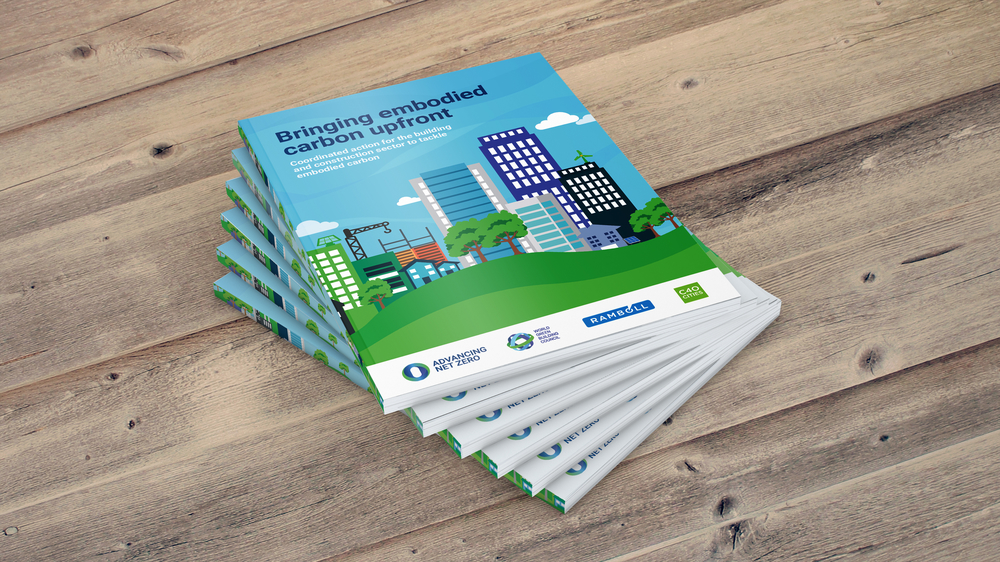 WorldGBC bringing embodied carbon upfront report