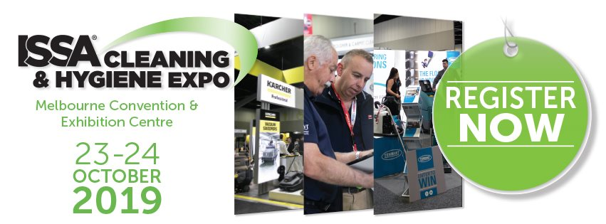 ISSA Cleaning & Hygiene Expo 2019 at Melbourne Convention & Exhibition Centre