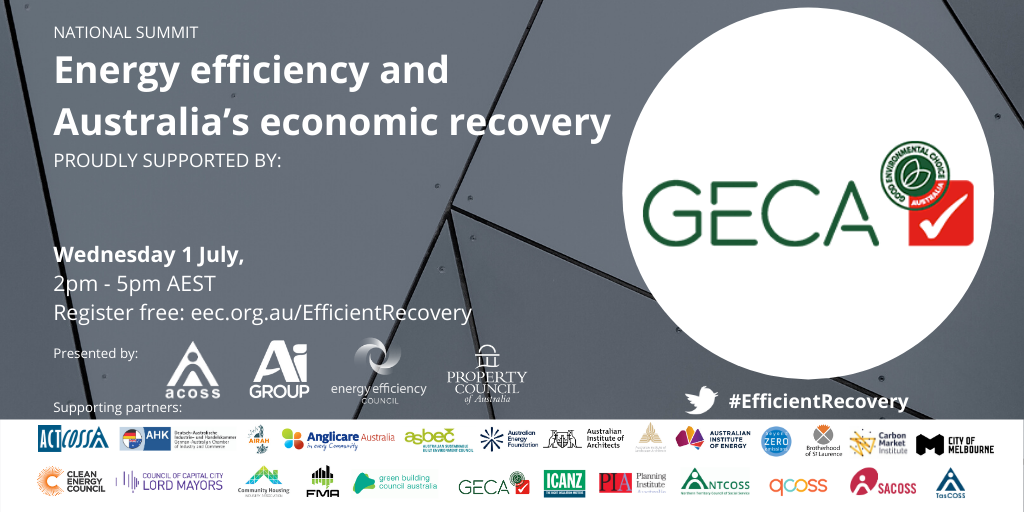 Energy Efficiency and Economic Recovery Summit