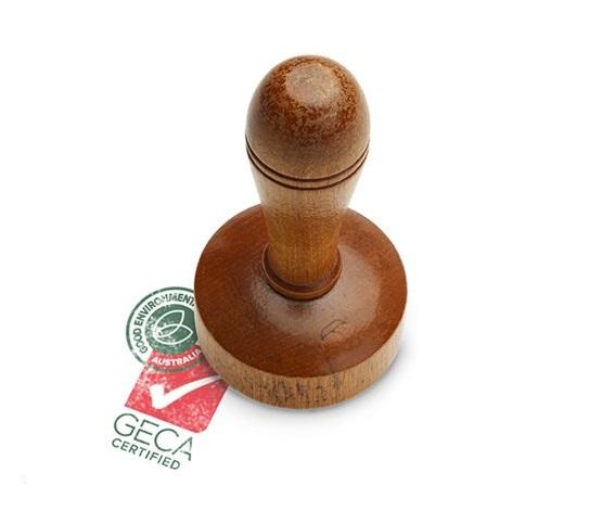 GECA certified stamp