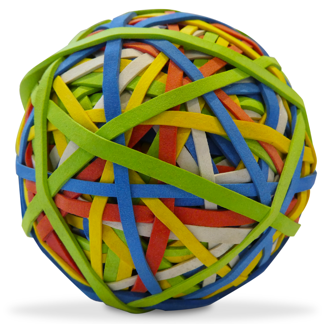 Bounce Rubber Bands Ball
