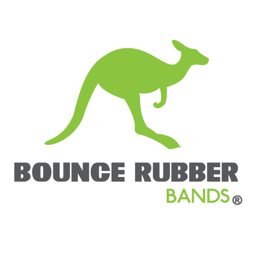 Bounce Rubber Bands Logo