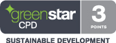 Attendees will be eligible to earn 3 Green Star Continuing Professional Development (CPD) points